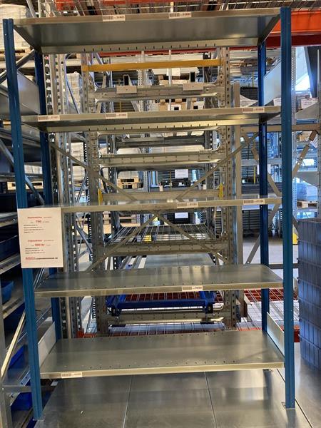 Lagerhylla EAB Startsektion 400x1300x2000 5 hyllplan