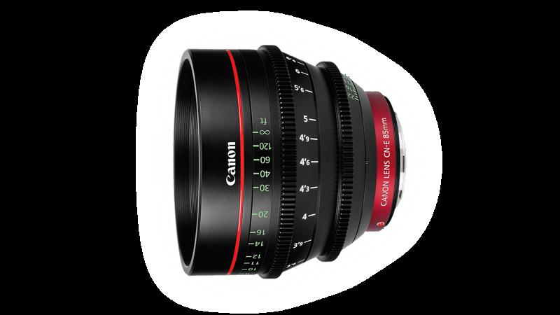 Canon CN-E 85mm CINE LENS EF