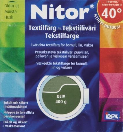 TEXTILFÄRG OLIV 21 NITOR