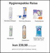 Hygienepakke Reise