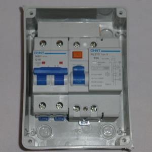 Mode 2 koblingsboks for sikring og/eller B vern