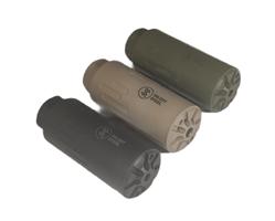 Silent Steel Micro Streamer äänenvaimennin musta