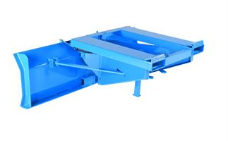 Snöplog för gaffeltruck bredd 1500mm