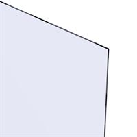 Akrylglass 4,0x600x400 mm - Klar