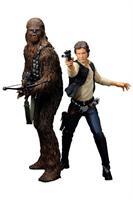Star Wars, ARTFX, Han Solo & Chewbacca, 2-Pack