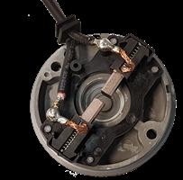Mocad Motorlock komplett med kol och anslutning