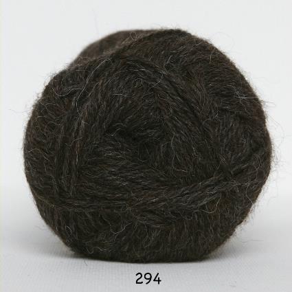 Kinna Textil Hjerte Alpacka mörkbrun