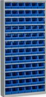 Backskåp inklusive 72 st Plastbackar blå