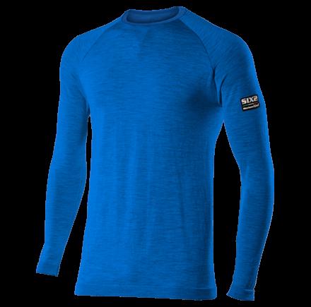 SIXS - Merino Longsleeve - Blue - L/XL