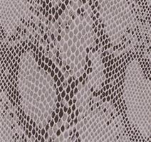 Konstläder ormskinn gråsilver