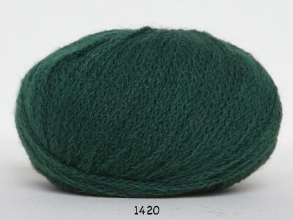 Kinna Textil Rustic Baby Alpacka grön