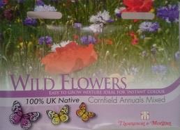 Vildblommor 'Cornfield Annuals Mix'