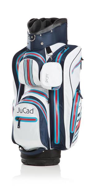 JuCad Bag Aquastop, Blå / Vit / Röd