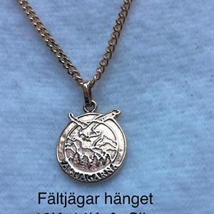 FÄLTJÄGARHÄNGE 18K