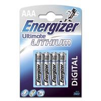 Batteri AAA.Litium/4st.Energizer