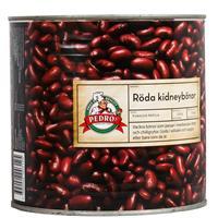 Röda kidney Bönor Konserv 2,5kg