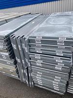 Iläggsplåtar EAB 1110x455 mm galv beg