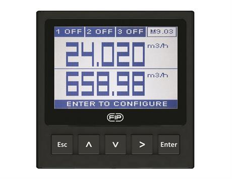 Dual-Parameter Flow Monitor & Transmitter