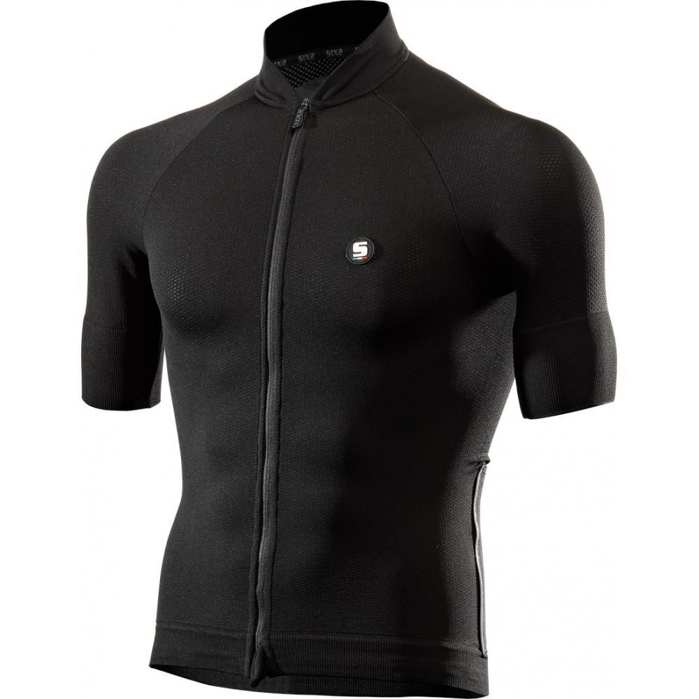 SIXS - Short Sleeve Bike Jersey - Black