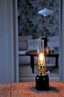 Koholmen fotogenlampa brun