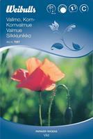 Vallmo Korn- 'Vild' röd