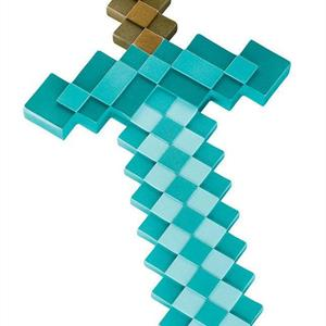 Minecraft Plastic Replica, Diamond Sword