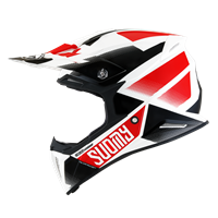SUOMY X-WING - Grip White/Red