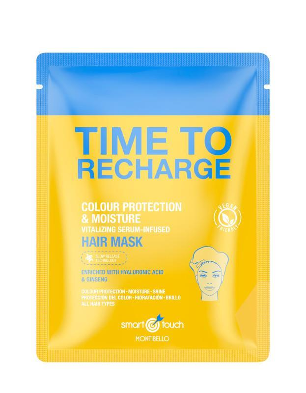 Smart Touch Time To Recharge Mask