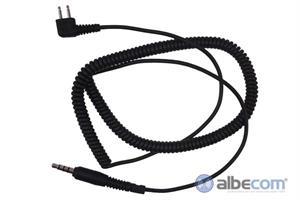 Kabel Peltor 2-stift FL6H-Y-Profighter