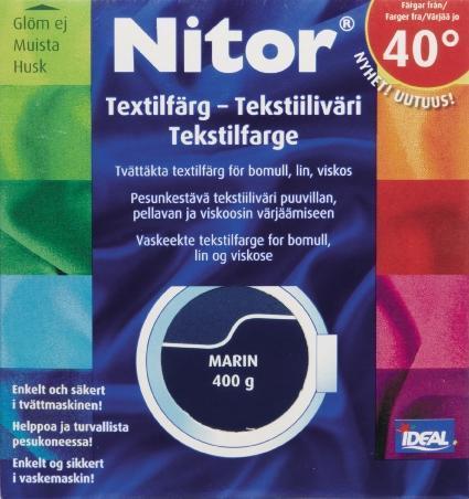 TEXTILFÄRG MARIN 07 NITOR