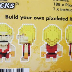 Street Fighter, Pixel Bricks Ken