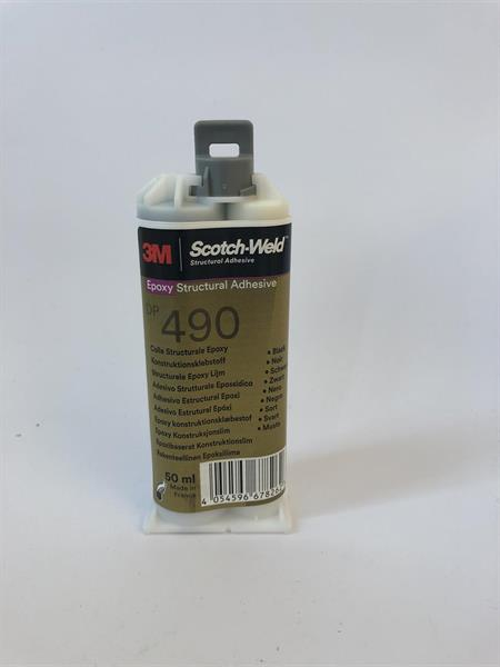 3M Scotch-Weld Konstruktionslim Epoxi DP 490, Svart,  50 ml