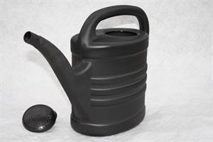 Vattenkanna 5 liter antracitgrå med stril