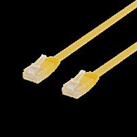 TP-Kabel 0,3m Cat6 Gul
