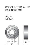 M-248 Kullager 24 x 8 x 8 mm