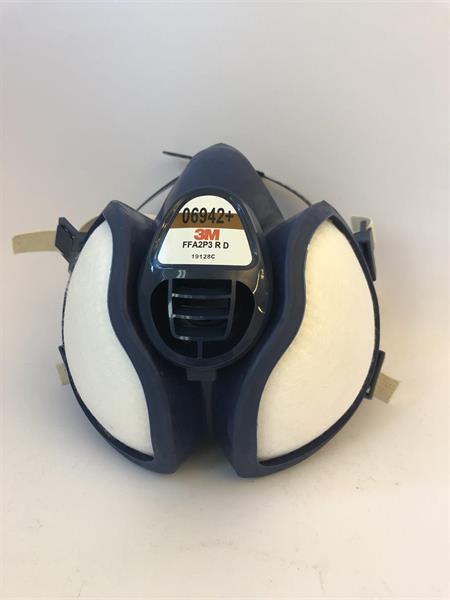 3M Underhållsfri skyddsmask,