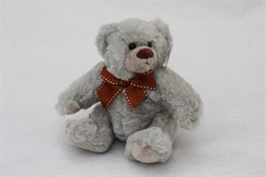 Teddybjörn grå 15cm CE märkt