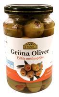 Oliver Gröna med paprika 12x370ml