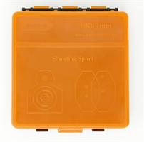 Odeon pistoolin panoslaatikko - 100 rd - Oranssi