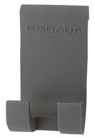 Krok grå silikon for dusjvegg 6-8 mm