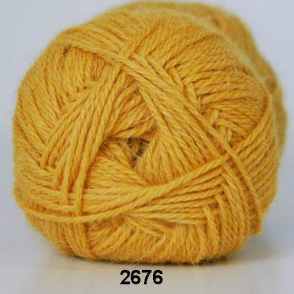 Kinna Textil Hjerte Alpacka gul