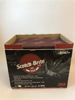 3M Scotch-Brite ark Veryfine CF-HP, A VFN, Oliv, 158 x 224 mm 07447