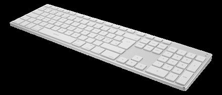 Tangentbord TB-402 Bluetooth Alu /vit