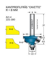 Kantprofilfräs CAVETTO R=8 L=14 F=11