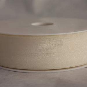 Band 25 mm 50 m/r organza cream