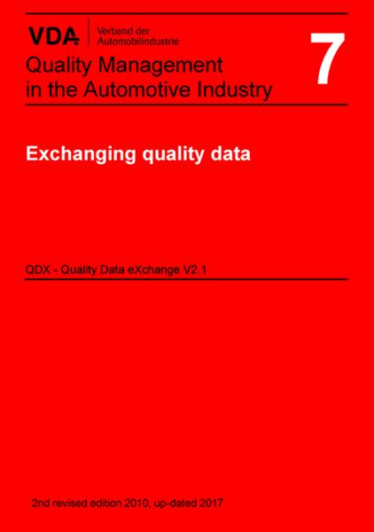 Vol 7. Utbyte av kvalitetsdata QDX (ENG)