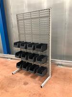 Kompl. golvställ paneler 1500x900x410 mm 36 st Arca 9074