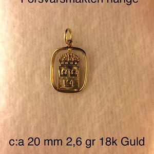 FM Hänget 14 K Guld