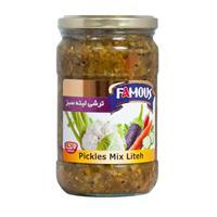 Pickles Famous Liteh 12 x 680g