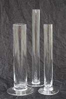 Glasvas provrör olika storlekar